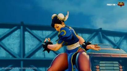 Garena Free Fire - Street Fighter V Collaboration Trailer