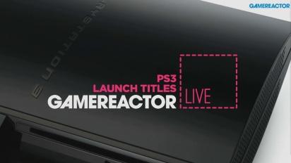 Juegos de lanzamiento de PS3 - repetición del Livestream
