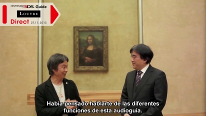 Presentación Nintendo 3DS Guide: Louvre Direct (español)
