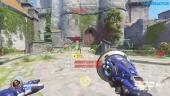Overwatch - New Map: Eichenwalde Attack Gameplay