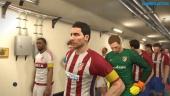 Pro Evolution Soccer 2017 - Gameplay PES 2017 partido Atlético Madrid vs Flamengo