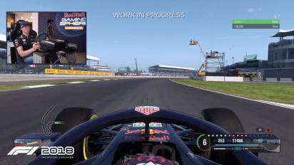 F1 2018 - Max Verstappen on Silverstone