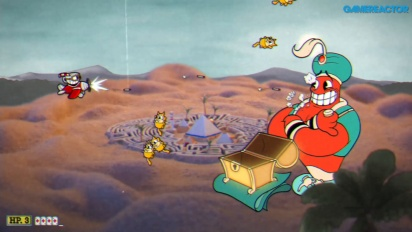 Cuphead - Gameplay en Nintendo Switch de Peligro Piramidal