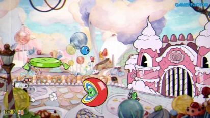 Cuphead - Gameplay en Nintendo Switch de Oscilación Golosínica