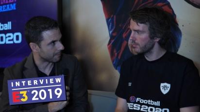 eFootball PES 2020 - Entrevista a Lennart Bobzien