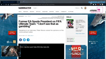 GRTV News - Peter Moore opina sobre la polémica de FUT