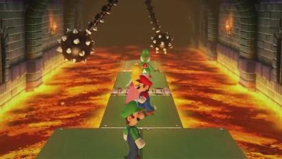 Mario Party 10 - Minijuego Trampas y Mazmorras