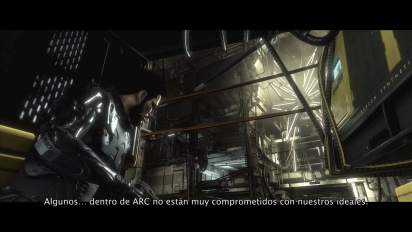 Deus Ex: Mankind Divided - Tráiler español gameplay E3 2015