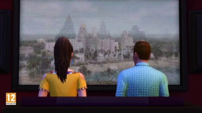Los Sims 4 - Tráiler del pack de accesorios Noche de Cine