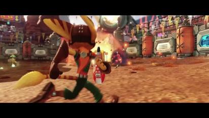 Ratchet & Clank - Tráiler español de la historia del juego