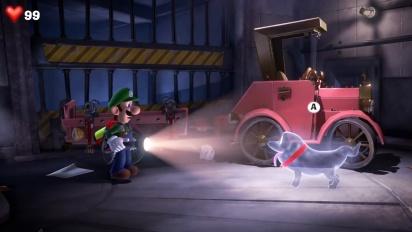 Luigi's Mansion 3 - Nintendo Treehouse E3 2019 Gameplay