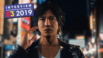 Judgment - Entrevista a Kazuki Hosokawa