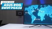 El Vistazo - Monitor Dual ASUS ROG Swift PG43UQ