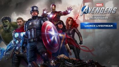 Marvel's Avengers - Replay del Livestream de lanzamiento