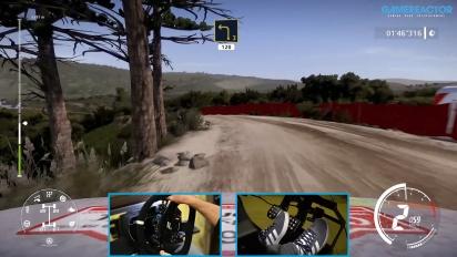 WRC 9 - Gameplay Nueva Etapa del Rally de Portugal en el Toyota GR Yaris Rally Concept