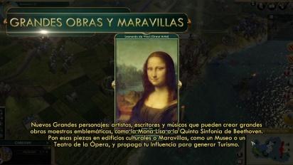 Civilization V: Cambia el mundo - tráiler español Cultura y Turismo