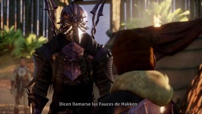 Dragon Age: Inquisition - Tráiler español Fauces de Hakkon