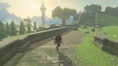 The Legend of Zelda: Breath of the Wild - Combat Gameplay