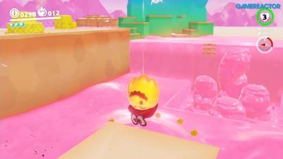 Super Mario Odyssey - Gameplay del Reino de los Fogones - Parte 1