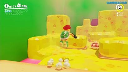 Super Mario Odyssey - Gameplay del Reino de los Fogones - Parte 2