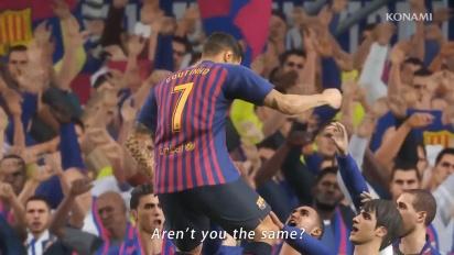 Pro Evolution Soccer 2019 - Tráiler de lanzamiento de PES 2019