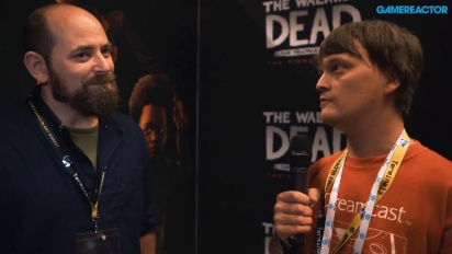 The Walking Dead: La Temporada Final - Entrevista a Brodie Anderson