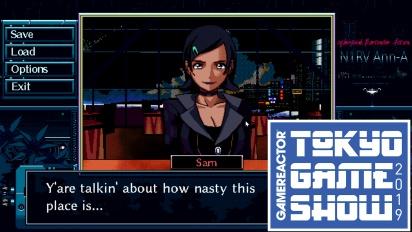 N1RV ANN-A: Cyberpunk Bartender Action - Gameplay TGS