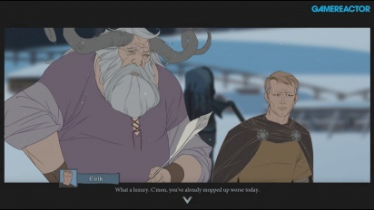 The Banner Saga - Gameplay PS4 de Gamereactor Plays
