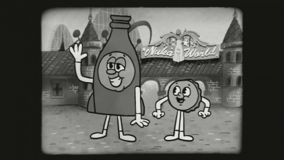 Fallout 4 - Nuka-World - Bottle & Cappy Theme Song Trailer