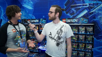 Lego Dimensions: Año 2 - Entrevista a James Burgon