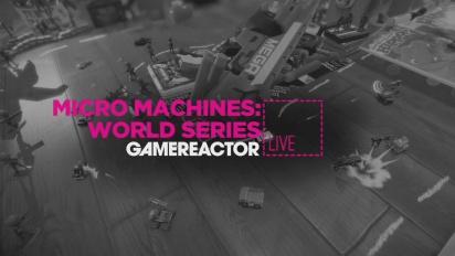 Micro Machines: World Series - Replay del Livestream