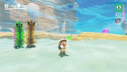 Super Mario Odyssey - Gameplay del Reino Ribereño - Parte 1