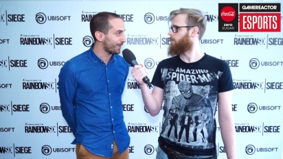 Rainbow Six Pro League Season 3 finals - François-Xavier Dénièle Interview