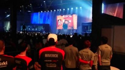 Rainbow Six Pro League Season 3 finals - ENCE clutch against Evil Geniuses (Crowd reaction)