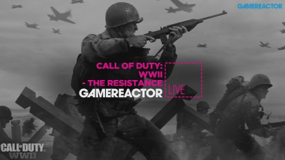 Call of Duty: WWII - The Resistance - Livestream Replay