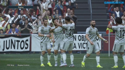 Pro Evolution Soccer 2019 - Gameplay partido completo Real Madrid vs Juventus