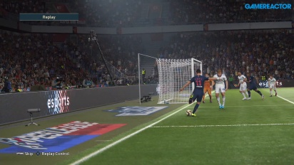 Pro Evolution Soccer 2019 - Gameplay partido completo Paris Saint-Germain vs København