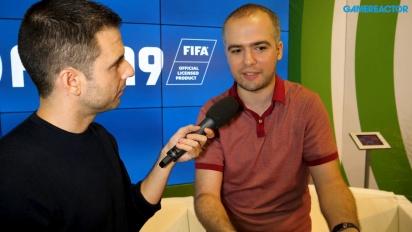 FIFA 19 Switch - Entrevista a Andrei Lazarescu