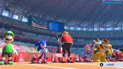 Mario & Sonic en los Juegos Olímpicos: Tokio 2020 - Gameplay de 110 m Vallas