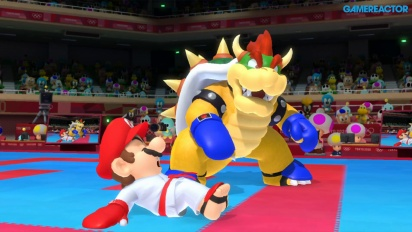 Mario & Sonic en los Juegos Olímpicos: Tokio 2020 - Gameplay de Karate-Kumite