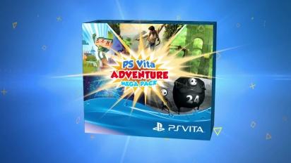 PS Vita - Adventure Mega Pack Trailer