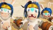 Mario + Rabbids Kingdom Battle - Donkey Kong Adventure Gameplay Trailer en español