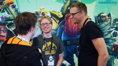 Deep Rock Galactic - Entrevista a Søren Lundgaard y Mikkel Martin Pedersen