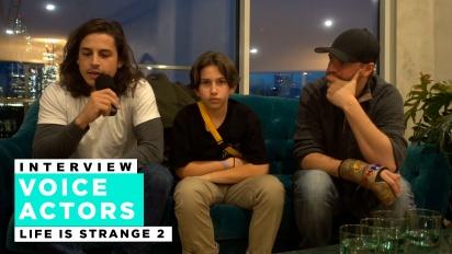 Life is Strange 2 - Entrevista a Roman George, Gonzalo Martin y Phil Bache