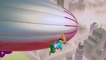 Gang Beasts - Nintendo Switch Announcement Trailer