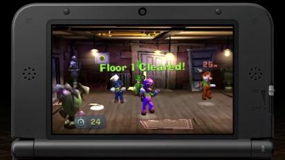 Luigi's Mansion 2 - Tráiler multijugador: modo Cazador