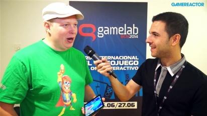 Supernauts - demostración de gameplay y entrevista a Markus Pasula en Gamelab 2014