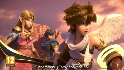 Super Smash Bros. Ultimate - Tráiler El mundo de estrellas perdidas