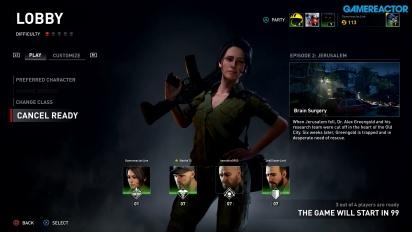 World War Z - Gameplay Online del Episodio 2, Capítulo 1 en Normal