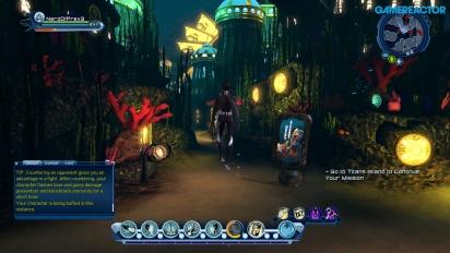 DC Universe Online for Nintendo Switch - Gampleay con comentarios de la directora